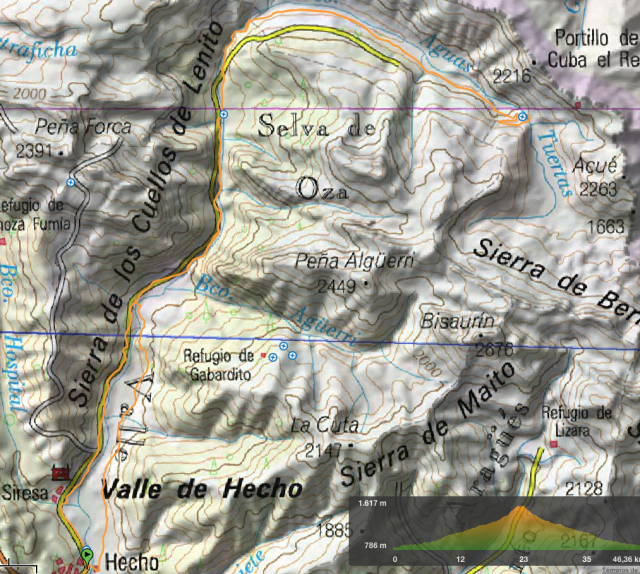 Mapa y Perfil