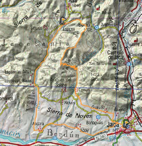 Ruta 29: Ruta propuesta por Foncho