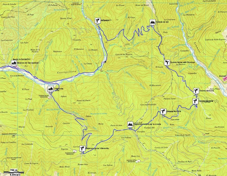 Mapa detalle