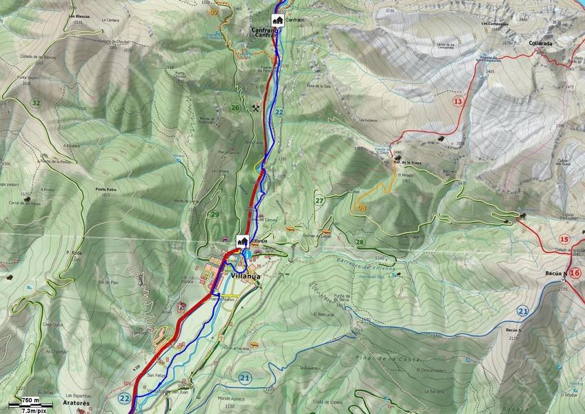 Mapa detalle Tramo 03