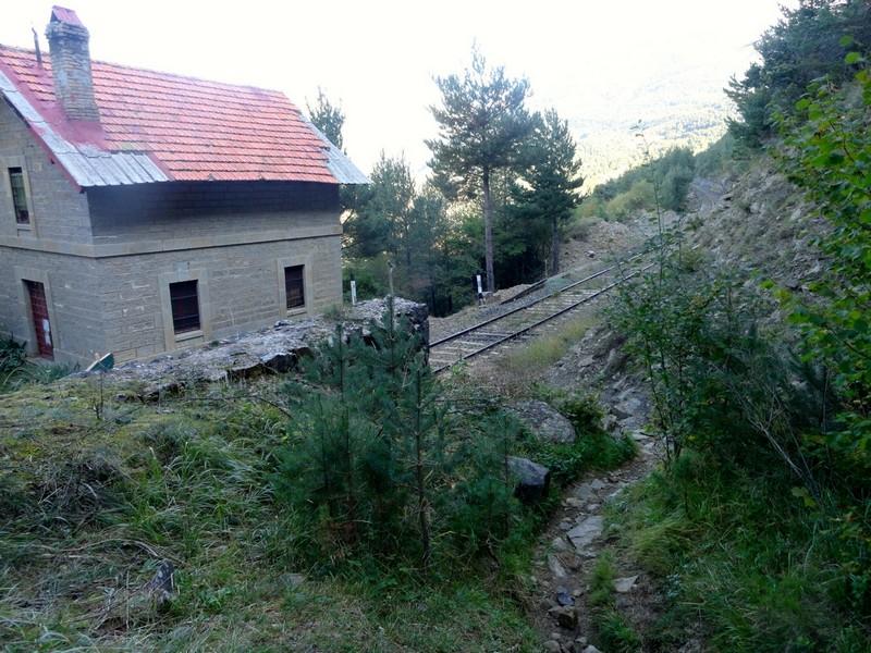 Cruce de la vía de tren