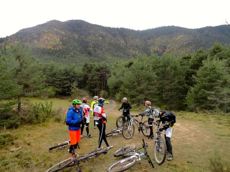 Foto de grupo en el Mirador de Oroel