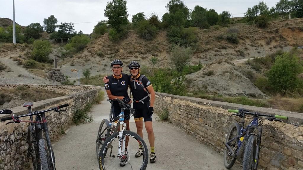 Robert y atri en el puente de S. Miguel