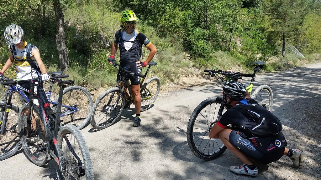 Raul y su bici